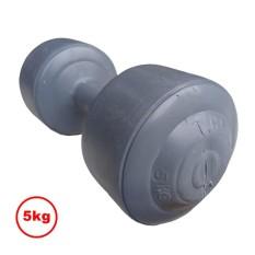 Barbel dumbel plastik 5 KG Abu-Abu - 1pcs