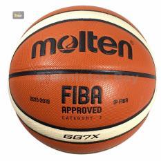 Bola Basket Molten GG7 X FIBA Basketball Kulit