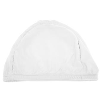 HEMAT BolehDeals Unisex Pria Wanita Dewasa Topi Berenang Renang TopiRenang Rambut Panjang Putih TERBAIK