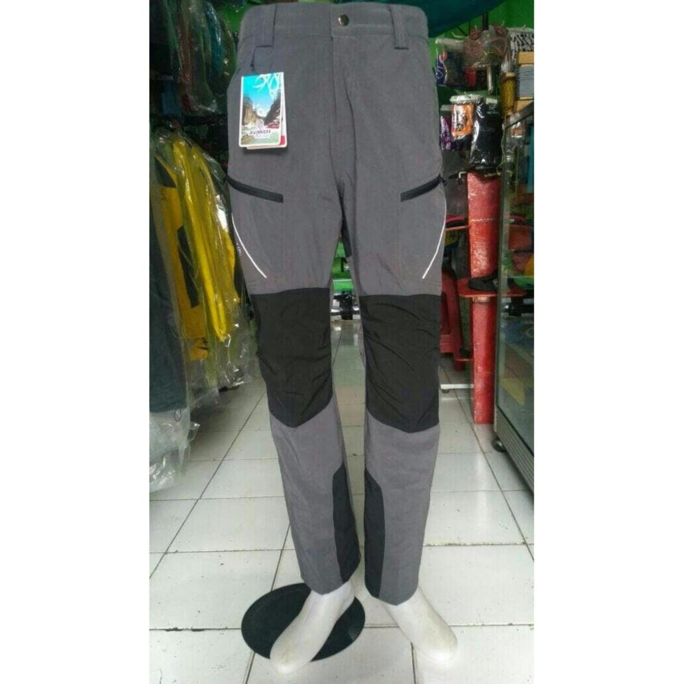 Celana Panjang Outdoor Camping Avaress Quickdry Bahan Cepatkering Black Yak Original Pant Ori Gunung