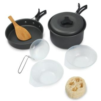 Cooking Set Outdoor DS-200 / Panci Multifungsi Camping Hiking