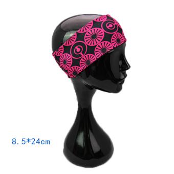 HEMAT Coolcore bertepi lebar pria dan wanita wajah headband kebugaran karet rambut MURAH