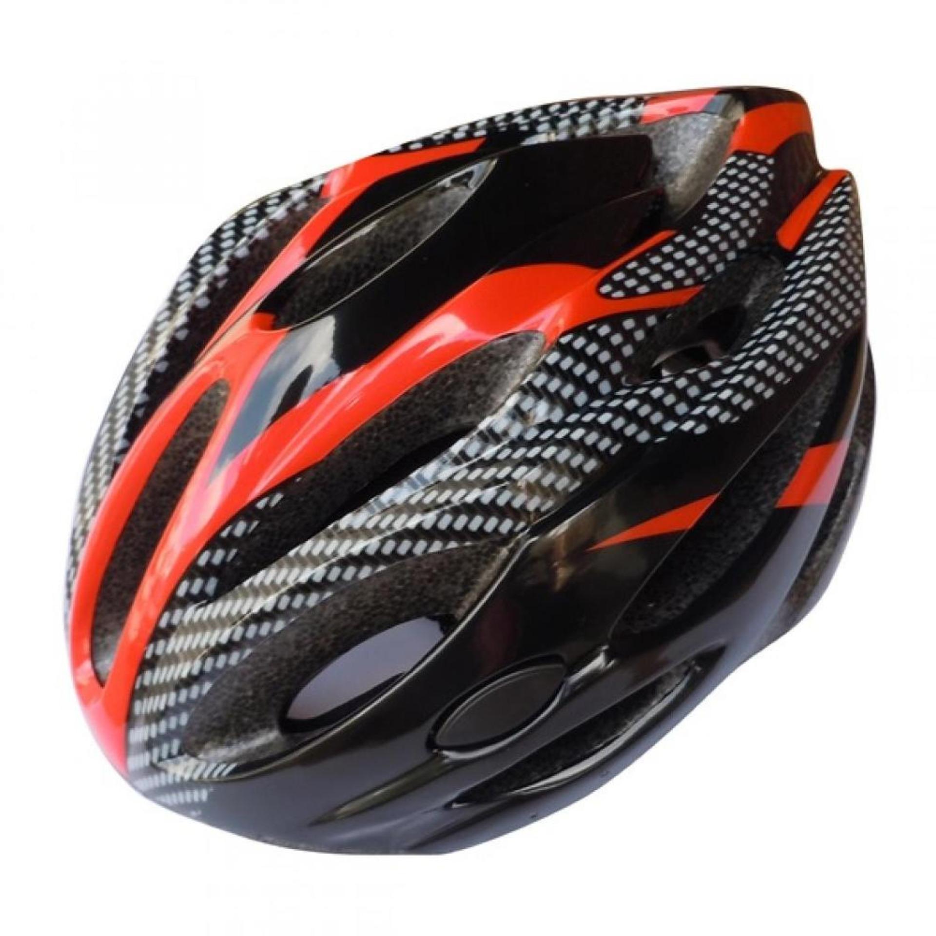 Cycling Helmet EPS Foam PVC Shell - x10 Helm Sepeda .