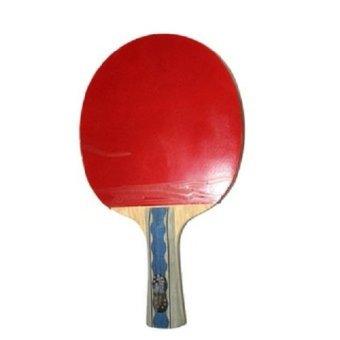 DHS Bat Tenis Meja 6002 - Merah Hitam