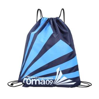Double Layer Drawstring Waterproof Backpacks Shoulder Bag Travel (G) - intl