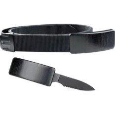 DSC - Belt Gesper Sabuk Pisau High Quality Original For Survival - Hitam