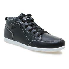 Eagle Ariel Sneaker Pria - Hitam-Putih