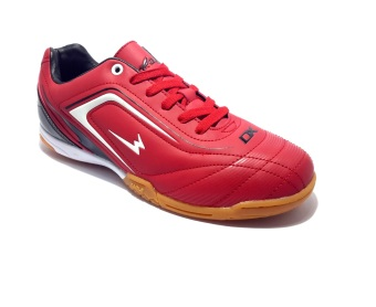 Eagle New Ventura Sepatu Futsal - Dark Red White Black