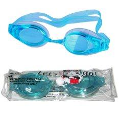 EELIC Kacamata Renang Original Goggle ANTI UV ANTI FOG 768 Warna Biru Muda