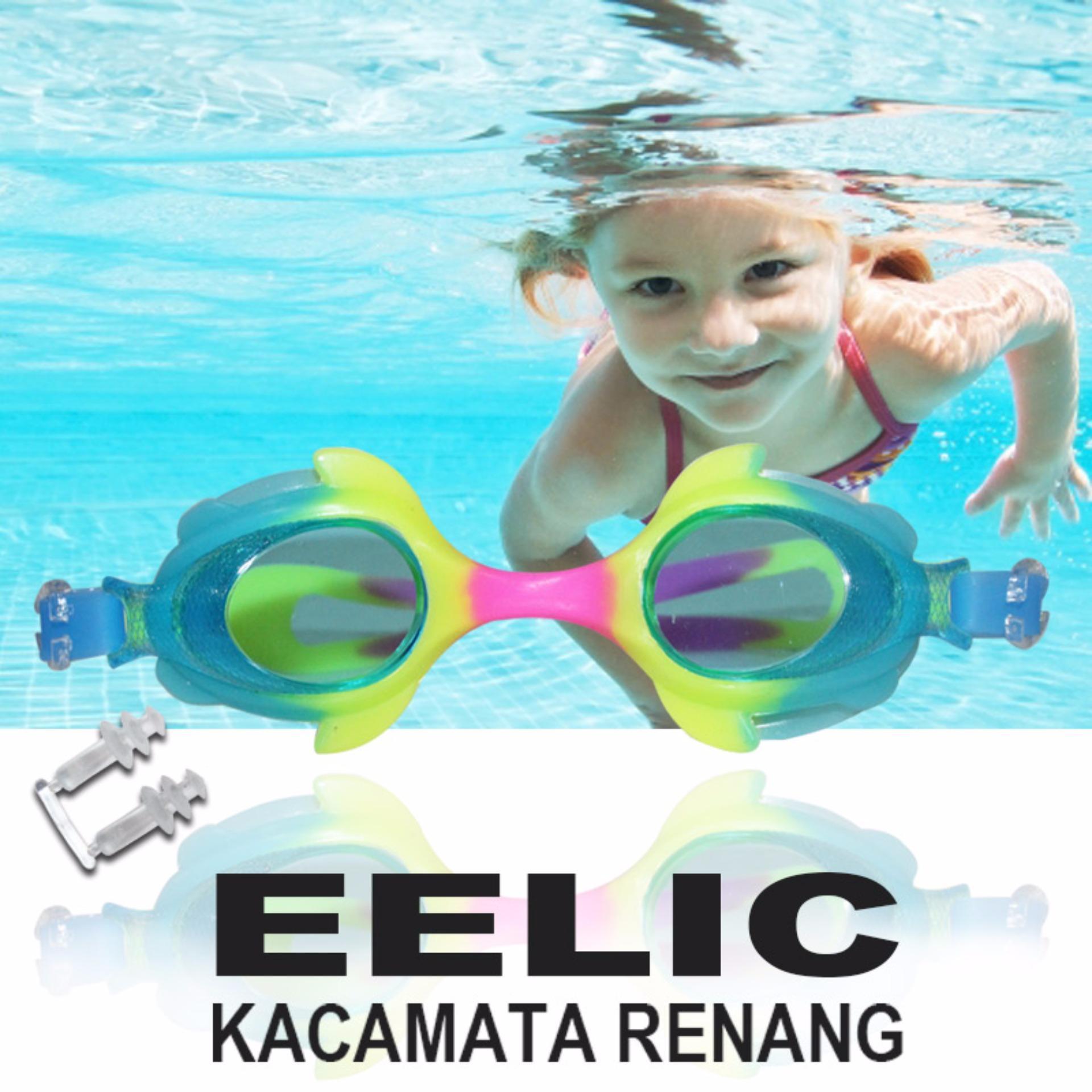 ... EELIC KAR-2800 PINK Kaca Mata Renang Anak Usia 2 - 7 Tahun ...
