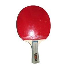Friendship Bat Tenis Meja 1 Star Biasa - Merah Hitam