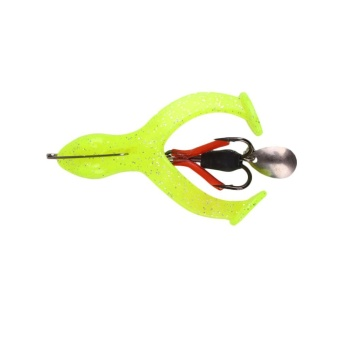 Frog Shape Outdoor Fishing Lures Fishhook Artificial Bait Hook Tackle Accessory - intl