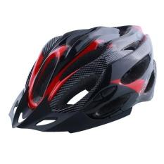 Helm Bersepeda Unisex Dapat Disesuakan Tahan Kejutan Pelindung Ultra Ringan