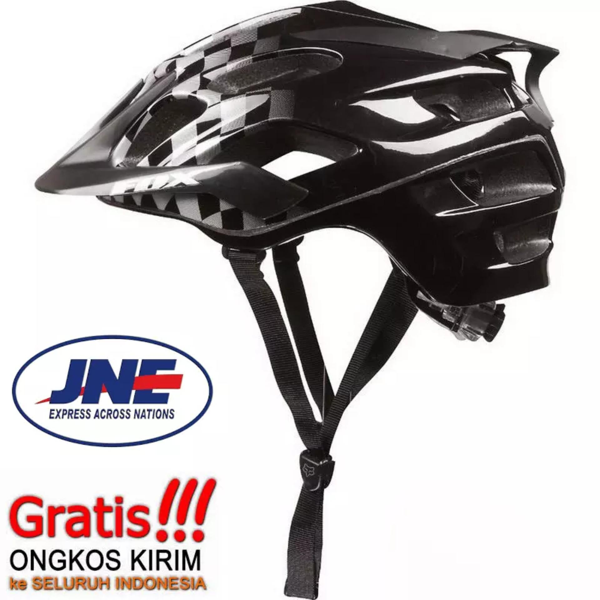 Eps Cycling Helmet Foam Pvc Shell X10 Helm Sepeda Black Review Bmx Dj Mxl Mexel Batok Source Fox Flux