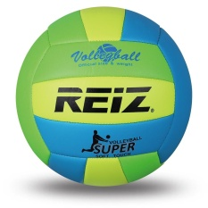 High Quality Official Size 5 Pu Volleyball With Net Needle V614 (Green) - intl