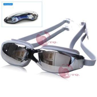 Icantiq Kacamata Renang Santai Swimming Goggles Mirror Anti Fog UVProtection Kaca Mata Renang Swimming Glass Swimming