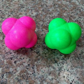 Reaction Balls Baseball Size Speed Agility Power Training Random Color - intl
