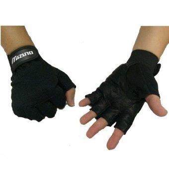 Harga Mizuno Sarung Tangan Olahraga /Fitnes Gloves/ Gym Unisex - Hitam