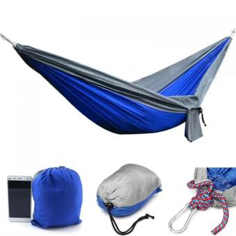 Harga RHS Portable Parachute Hammock Nylon Double Swing Bed for Camping Hiking Travel 270 x 140CM - intl