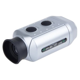 Harga Digital 7x Pocket Golf Range Finder Golf Scope Yards Measure Distance Golf Rangefinder Monocular