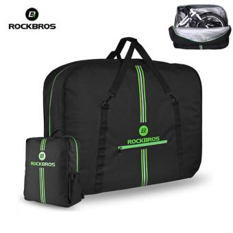 Harga RockBros Folding Bike Carrier Bags Carry Bag Easliy Carrt Bag with Storage Bag - intl