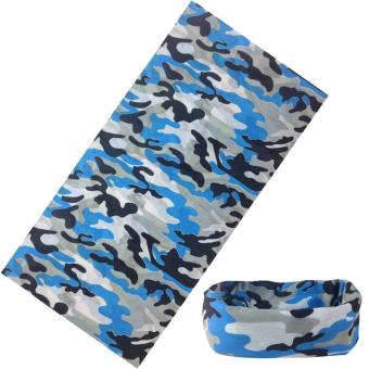 Harga Camouflage leaves outdoor variety seamless scarf multifunctional riding scarf U219 - intl