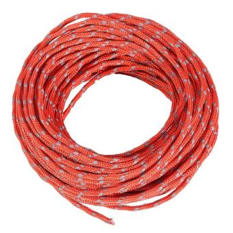 Harga New Reflective String Awning Sunshade Cord Windproof Outdoor Camping Tent Rope Guy Line (Red) - intl