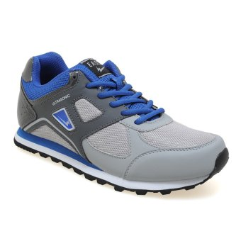 Harga Eagle Ultrasonic Sepatu Jogging - Royal Blue-Hitam-Light Grey