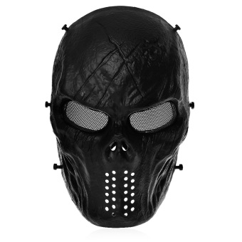 Harga Airsoft Paintball Skull Face Mask