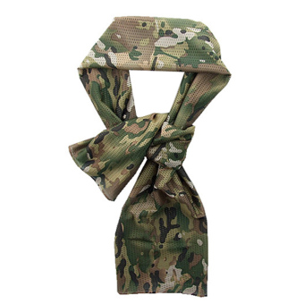 Harga OEM Army Scarf Lightweight Soft Camouflage Military Scarf