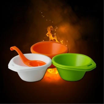 Harga 6 Bowls 1 Spoon Fire Maple Outdoor Camping PP Bowls 0.2L Tableware Travel Portable Bowls Cookware Sets 187g