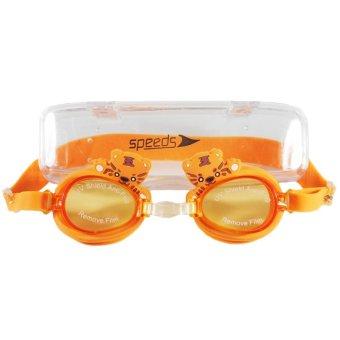 SPEEDS Kacamata Renang Anak - Motif Orange Tiger