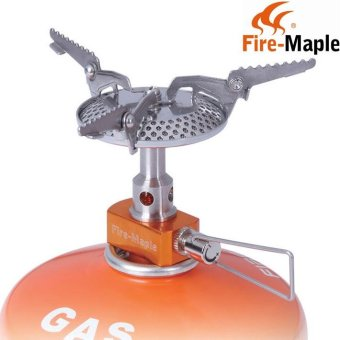 Harga FMS-116 Super ultra-light Big Power 2820W Camping Cooker Outdoor Burner Gas Stove Picnic Cookout Hiking Equipment - intl