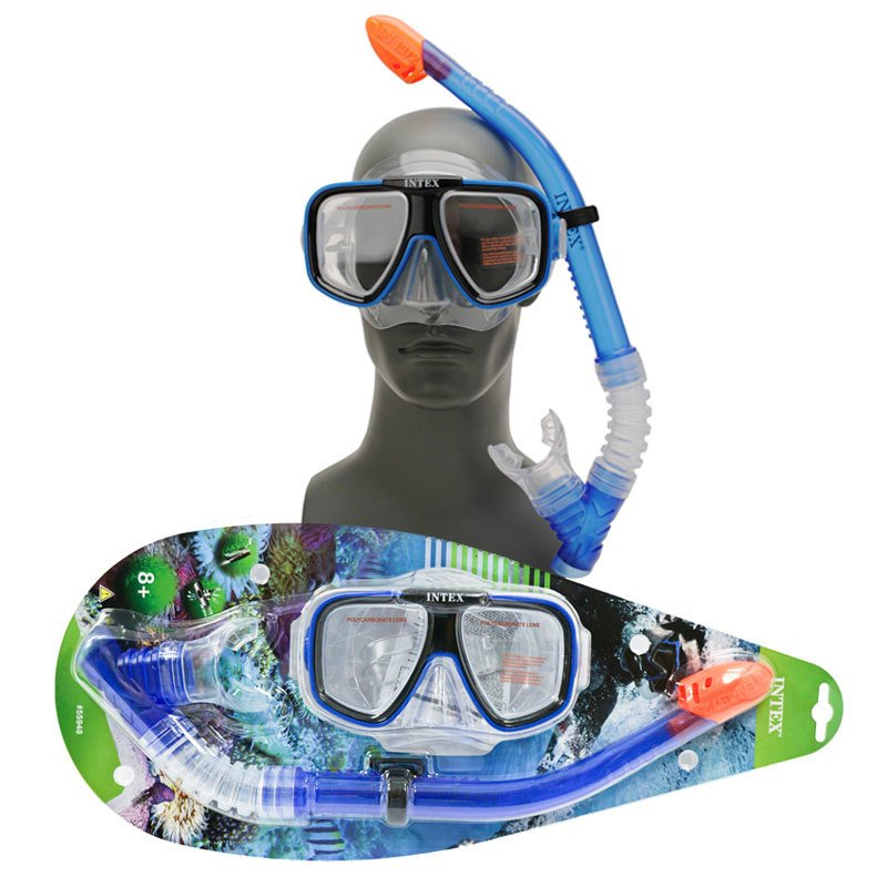 intex 55948 snorkel mask diving