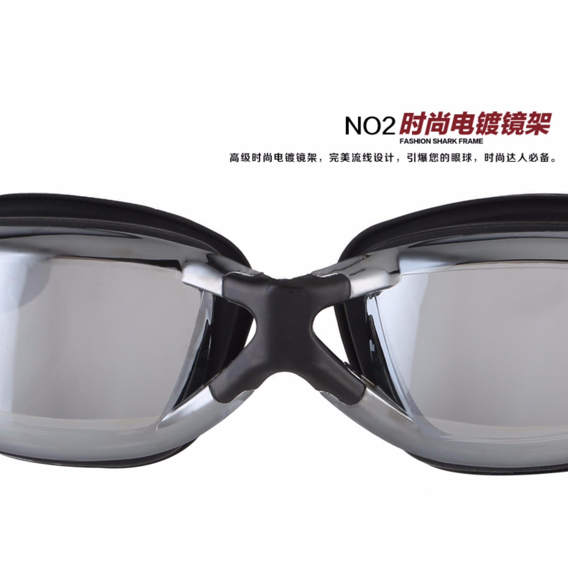 Kacamata renang Dewasa Anti Fog & Uv Protection Ruihe rh9200Original Profesional swimming goggles .