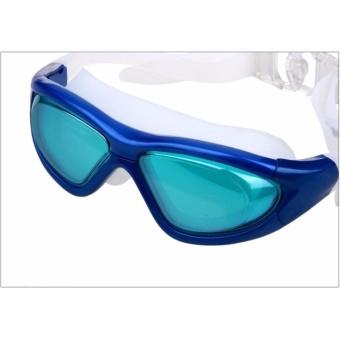 Kacamata Renang Dewasa Big Frame Anti Fog UV Protection Swimming Goggles Adult Ruihe RH9110