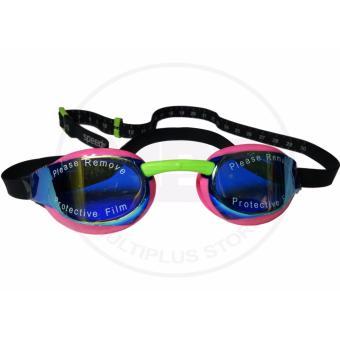 Kacamata Renang Speedo Fastskin Elite Miror - Pink