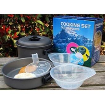 Kado Unik-- Cooking Set DS-200 / Alat Masak Outdoor / Cooking Set
