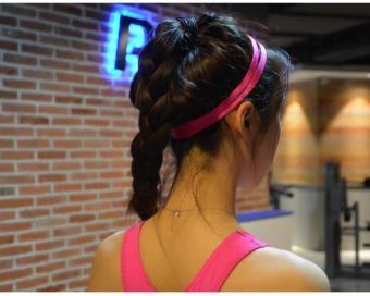 BELI Kebugaran Permen Berwarna Yoga Elastis Rambut Band Karet Rambut Elastis