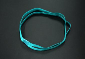 Kebugaran Yoga Silikon Non-slip Karet Rambut Headband