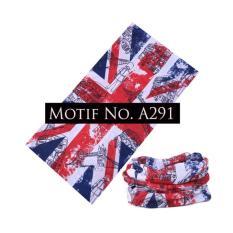 KMBuff Masker Serbaguna Motif Bendera Inggris A291