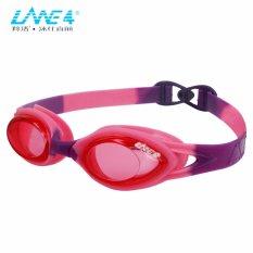 LANE4 Junior Kacamata Renang Anak-Anti-fog UV Perlindungan Anti-Glare, Silicone Seal Strap, Mudah-penyesuaian Quick Fit Nyaman Tidak Bocor untuk Junior, Anak-anak, Anak-anak A335