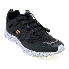 League Kumo 1.5 KB Sepatu Lari Pria - Hitam-Cloudburst-Bright Manggo