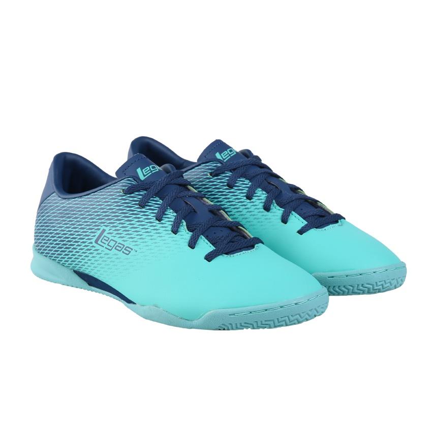 League Legas Series Attacanti LA Sepatu Futsal Pria - Cockatoo Majolica  Blue . 422581b364