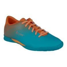League Legas Series Attacanti LA Sepatu Futsal - Scuba Blue-Autumn Glory-Whit