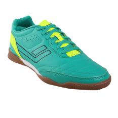 League Legas Series Meister LA Sepatu Futsal Pria - Peacock Green/ Volt/ Black