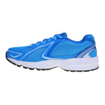 Harga League Legas Series Twister LA W Sepatu Lari Wanita Cyan Blue  Mediterranian Blue Putih Terbaru klik gambar. 1a0871bfeb