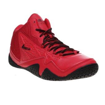 League Levitate Sepatu Basket - Chinesse Red-Black