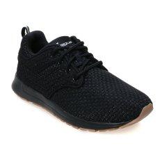 League Vault Zero Tartan Sepatu Lari Pria - Hitam-Putih-Gum Rubber