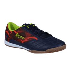 Legas Tyra LA Sepatu Futsal Pria - Eclipse/Red Orange/Lime Punc
